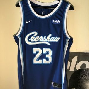 Lebron James Los Angeles Lakers Crenshaw Jersey